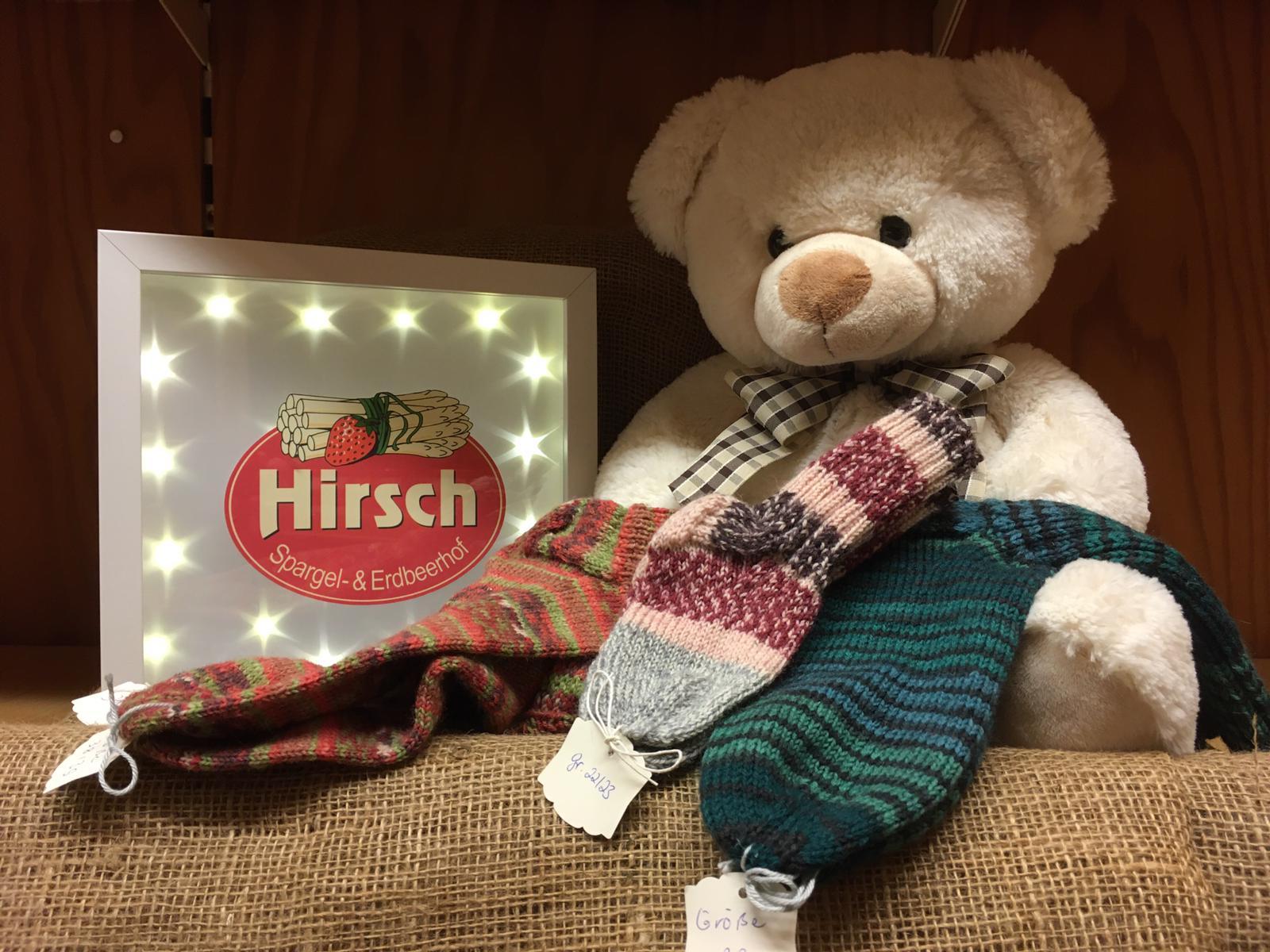 Spende Weihnachtshofladen und Soziales Netz Trebur
